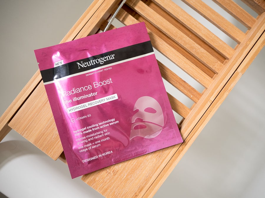 neutrogena radiance boost mask
