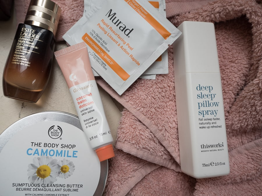 night time beauty products