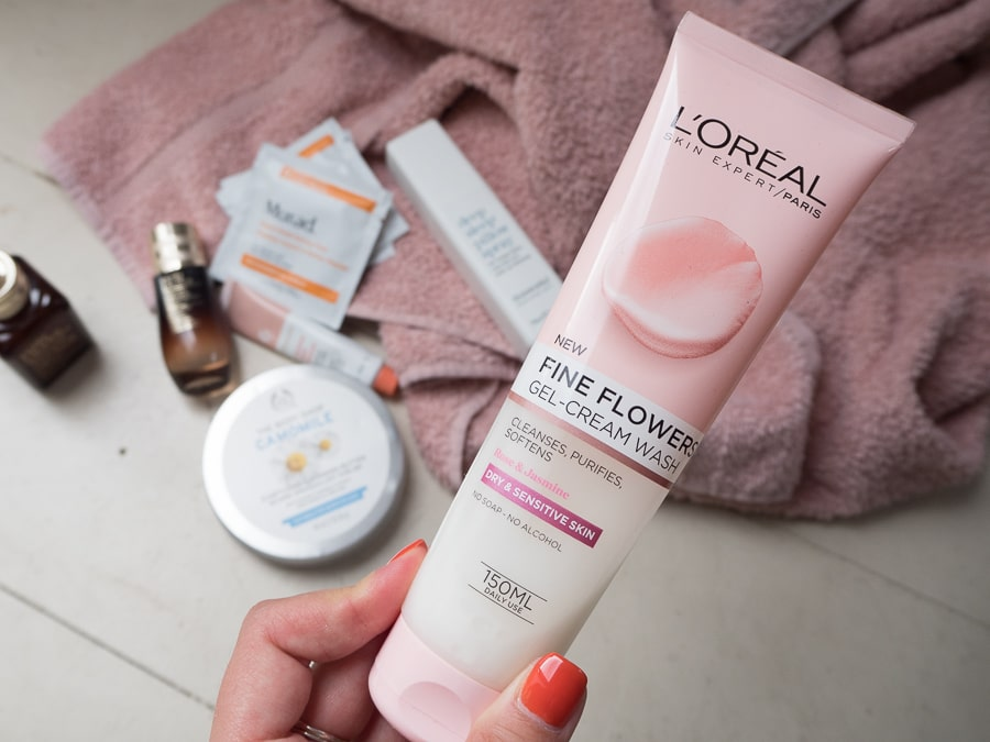 loreal fine flowers cleanser